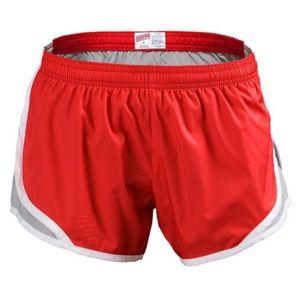 Soffe Running Short - Red